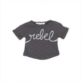 CAMISETA REBEL LAGO GRIS ANTRACITA