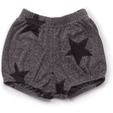 SHORTS STAR YOGA GRIS ANTRACITA