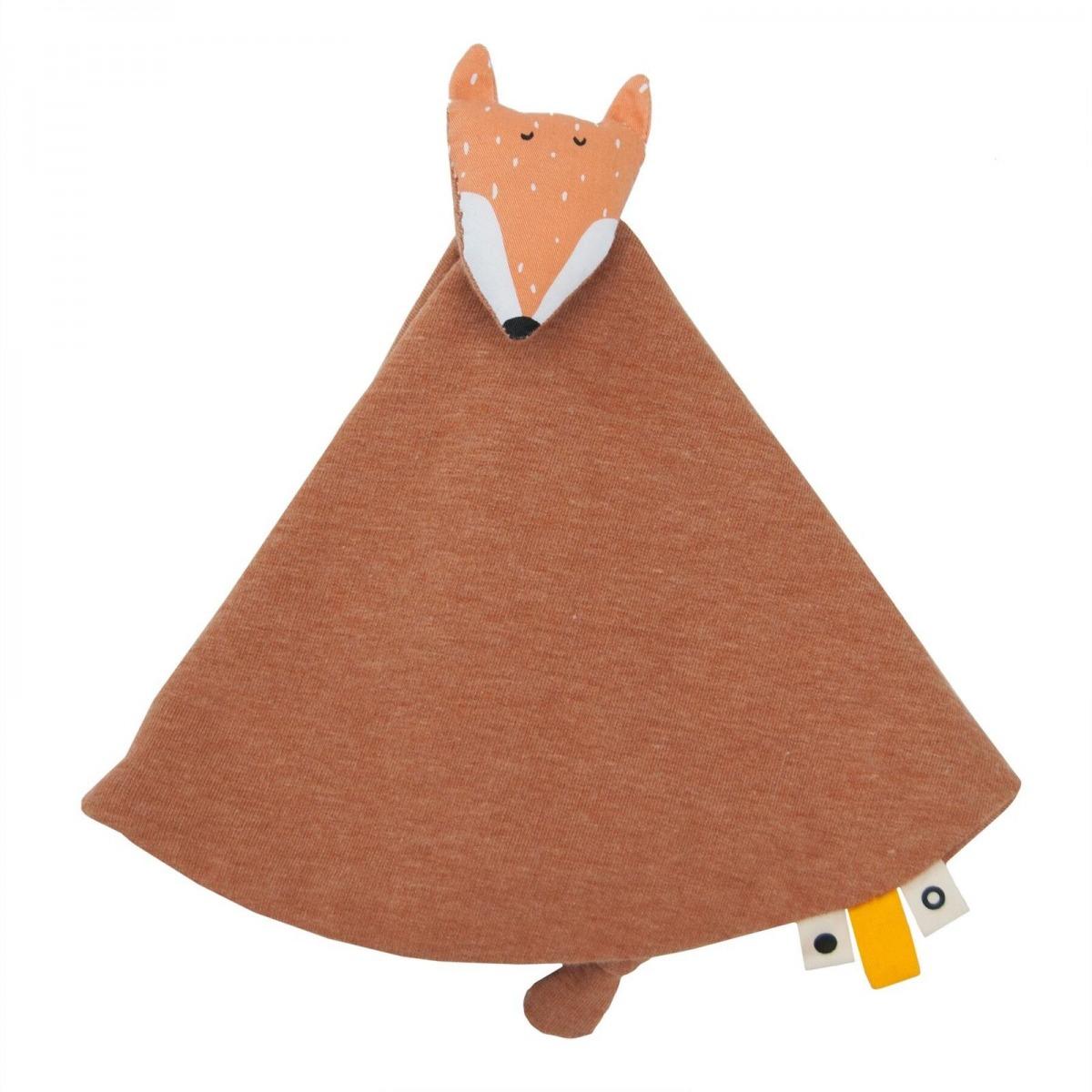 DOUDOU ZORRO MR FOX NARANJA