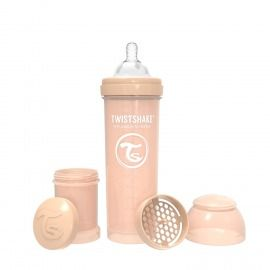 BIBERÓN TWISTSHAKE 330 ML BEIGE