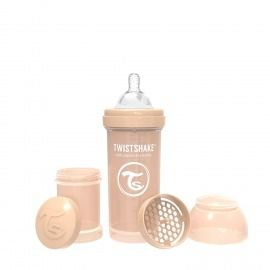 BIBERÓN TWISTSHAKE 260 ML BEIGE