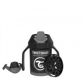 VASO MINI CUP TWISTSHAKE 230 4+M ML NEGRO