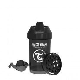 VASO CRAWLER CUP TWISTSHAKE 300 ML 8+M NEGRO
